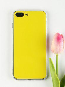 دي حالة الهاتف لفون - الأصفر آيفون 7 بلس / 8 بلس