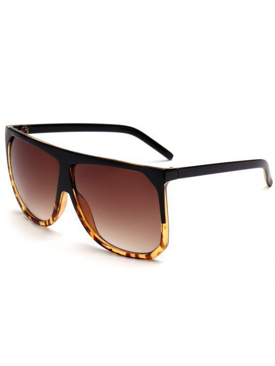 shop Vintage Full Frame Oversized Square Sunglasses - TEA-COLORED