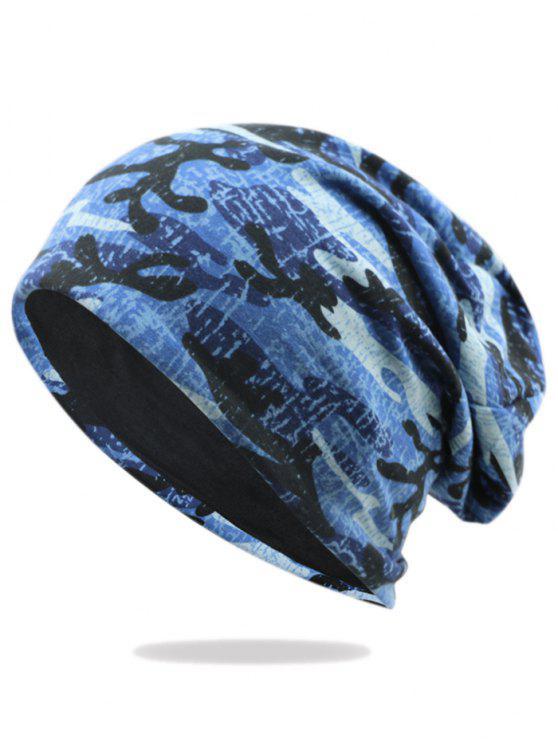 Bonnet Ample Motif Camouflage - Modèle G