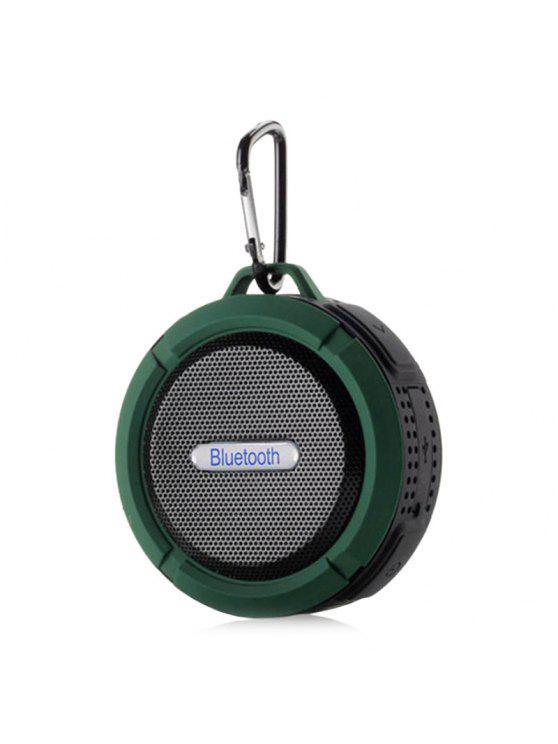 Altifalante Bluetooth sem fio sem fio à prova d'água - Verde 9*9*5CM