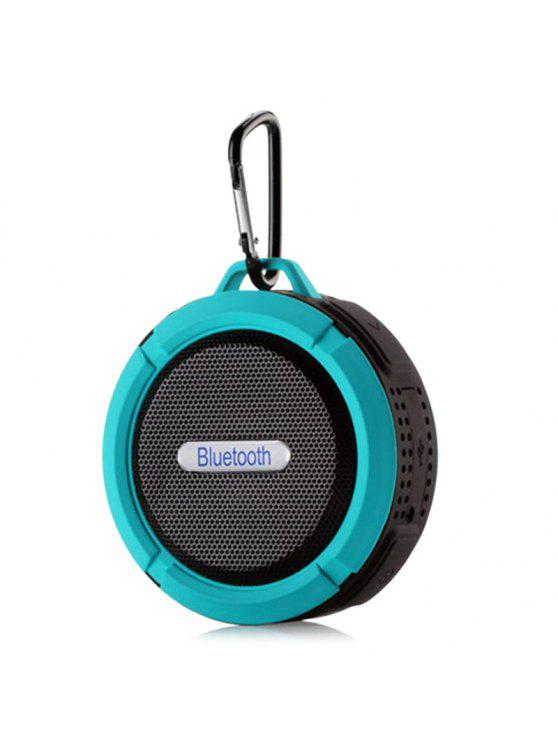 Altoparlante esterno Bluetooth wireless impermeabile - Blu Lago 9*9*5CM