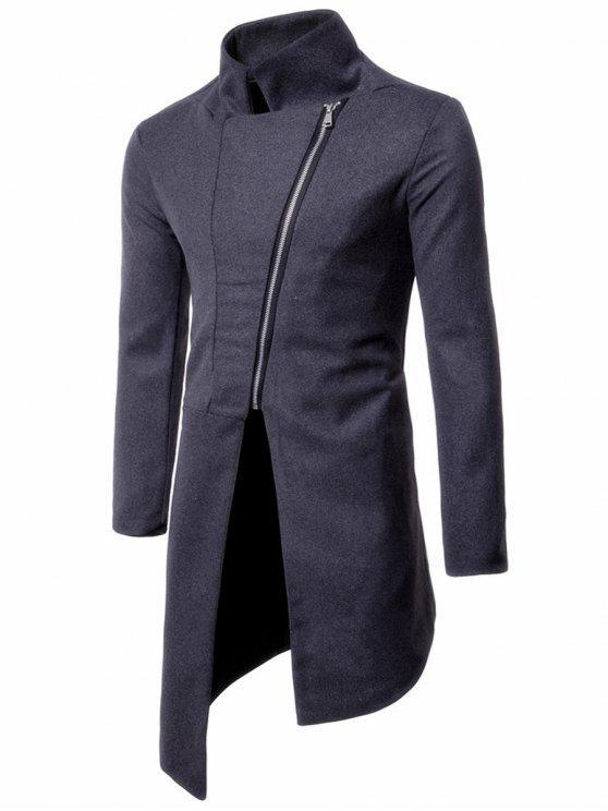 Manteau officier gris