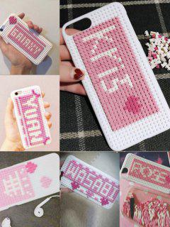 Building Blocks DIY Phone Case For Iphone - White For Iphone 7/8