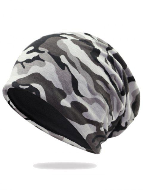 womens Outdoor Camo Pattern Embellished Lightweight Beanie -   Mobile