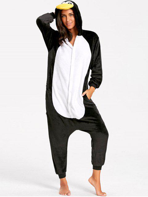 women Penguin Baby Animal Onesie Pajama for Adult - YELLOW L Mobile