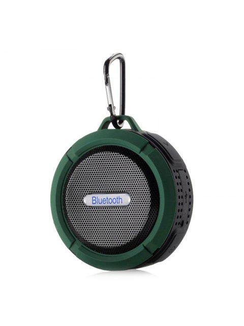 hot Waterproof Wireless Mini Outdoor Bluetooth Speaker - ARMY GREEN 9*9*5CM Mobile