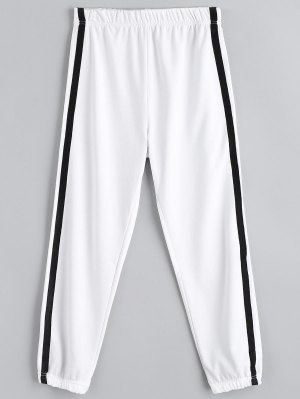 Casual Elastic Waist Jogger Pants