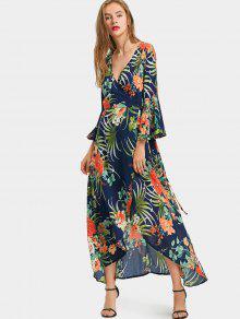 Vestidos largos estampado tropical