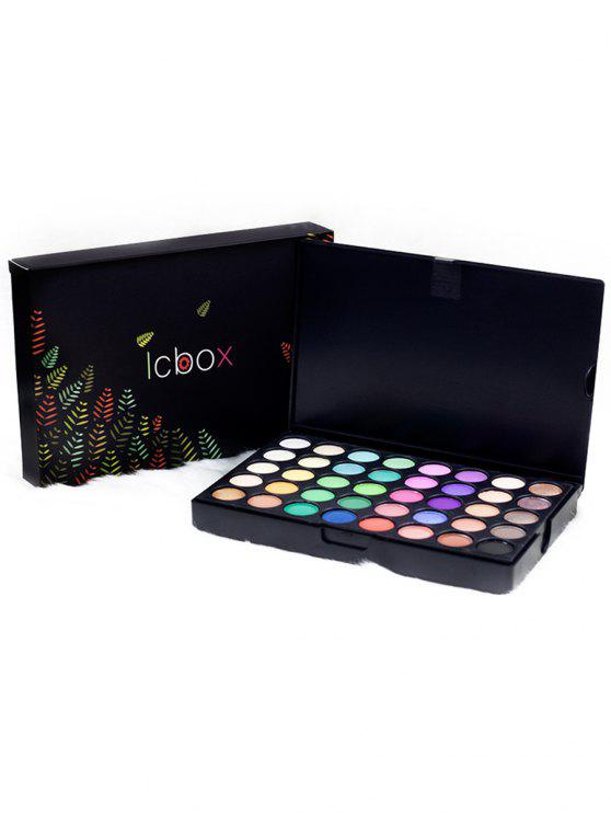 fancy 120 Colors High Pigmented Natural Eyeshadow Palette - COLORFUL