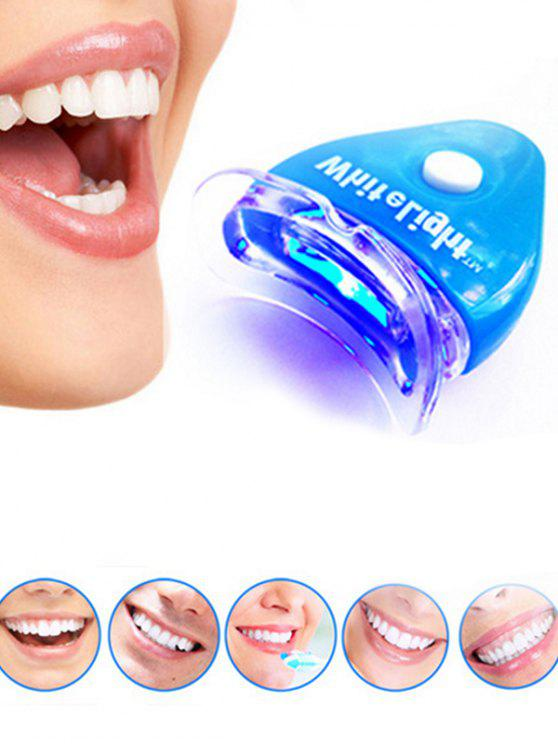 outfits Professional Luminometer Teeth Whitening Device - BLUE