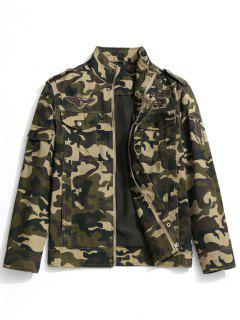 Camo Field Jacket - Camouflage Xl