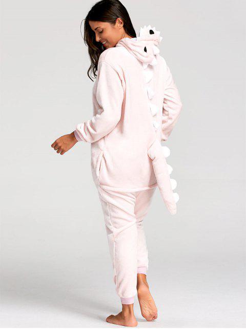 Pijama Onesie de Animal Dinosaurio - Rosa L Mobile