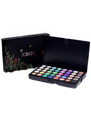 Paleta de sombra de ojos natural pigmentada alta de 120 colores