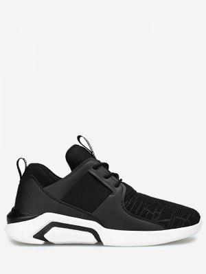 Elastic Vamp Low Top Athletic Shoes