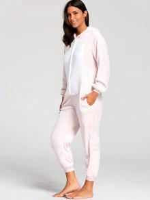 Maiale Di Pigiama Animal It 2019 Xl Zaful Onesie Rosa dxwB6C