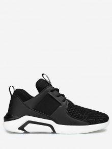 حذاء رياضي بأشرطة مطاطية - أسود 39