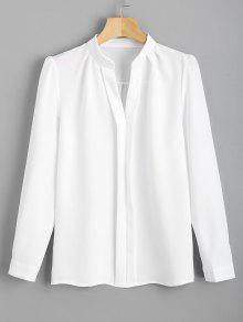 Chemise De Travail à Manches Longues - Blanc M