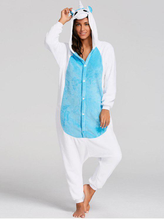 Christmas Onesie.Unicorn Animal Christmas Onesie Pajama Blue