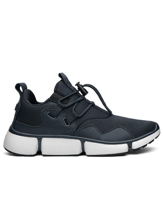تنفس التعادل حتى أحذية رياضية - رمادي 43