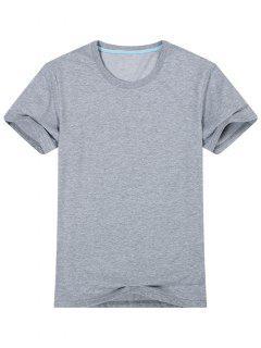 T-shirt à Manches Courtes  - Gris L
