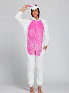 Cute Unicorn Animal Onesie Pajama - Pink Xl