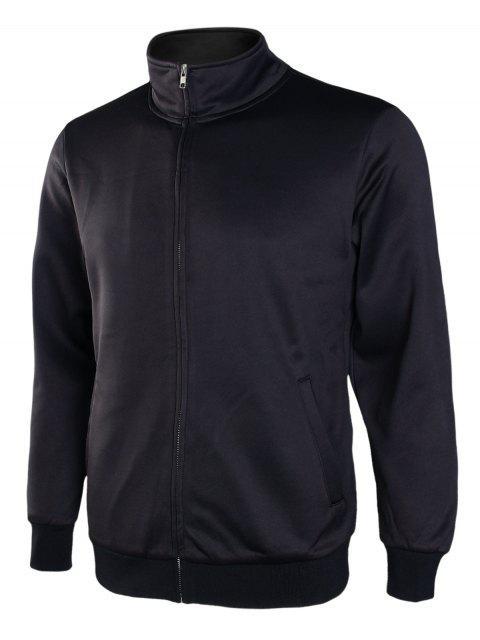 Veste Zippé à Col Montant - Noir 3XL Mobile