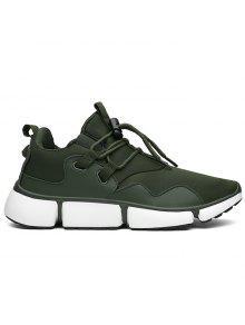 تنفس التعادل حتى أحذية رياضية - الجيش الأخضر 43