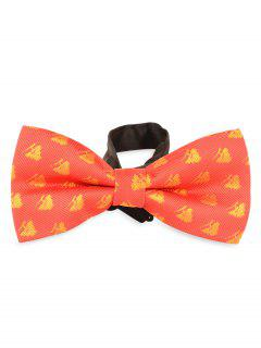 6CM Width Novelty Christmas Bowtie - Red