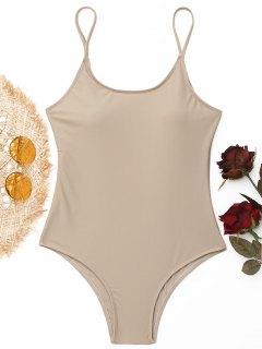 Gepolsterter Badeanzug - Nackt S