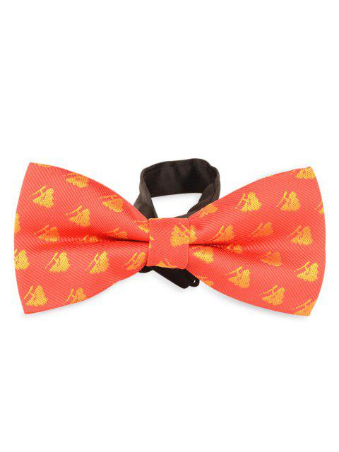 lady 6CM Width Novelty Christmas Bowtie -   Mobile