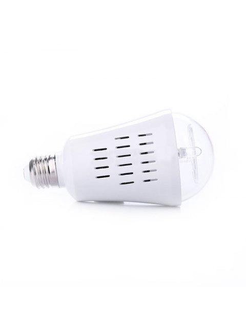 fashion Christmas Snowflakes Pattern Party Decor Projector Light Bulb - WHITE EU Mobile
