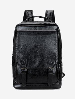 Hebilla correas mochila de cuero de imitación