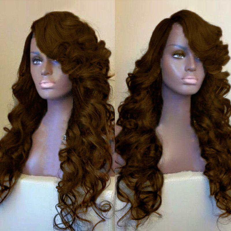 Side Parting Long Fluffy Loose Wave Synthetic Wig 231756003