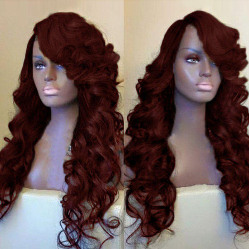 Side Parting Long Fluffy Loose Wave Synthetic Wig 231756002