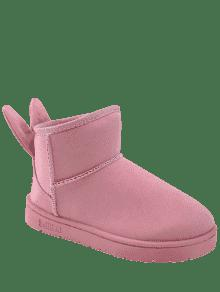 latest collections for sale Rabbit Ear Embellished Badge Snow Boots sale extremely store cheap online 5vjTZOMT8h