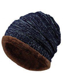 المخملية كولورميكس نمط محبوك سلوشي قبعة صغيرة - Cadetblue رقم