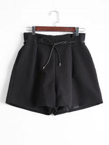 عودة جيب الجيب واسعة الساق جيب - أسود L