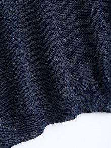 ... Suéter Sparkle con manga y linterna para cuello de barco
