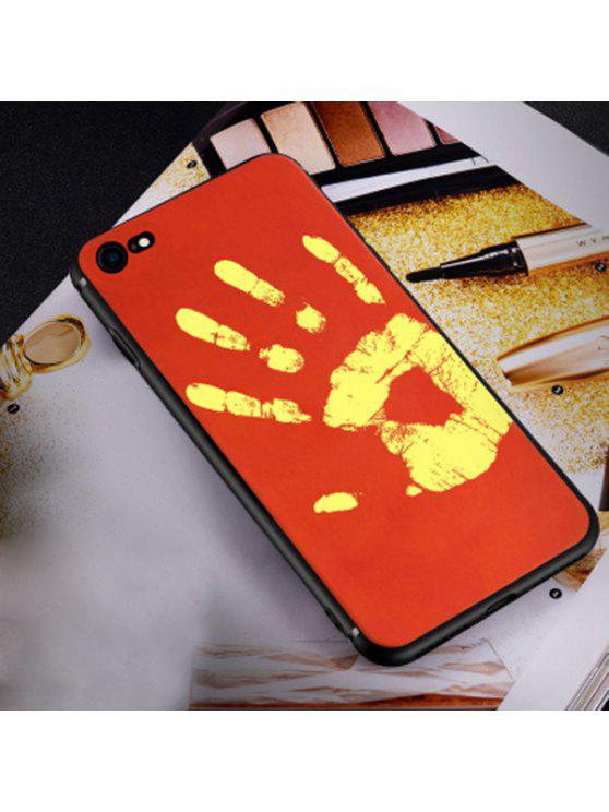 Caso macio sensível ao calor do telefone para Iphone - Vermelho Para IPHONE 6 PLUS / 6S PLUS