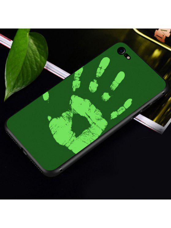 Wärmeempfindlicher weicher Telefonkasten für Iphone - Grün FÜR IPHONE 6 PLUS / 6S PLUS