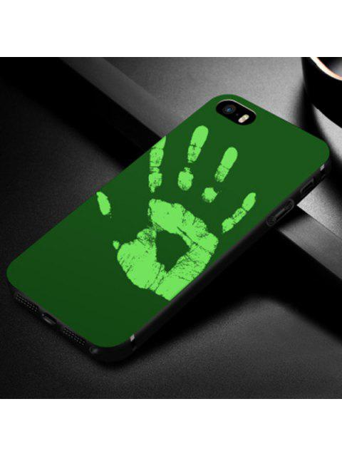 women's Heat Sensitive Soft Phone Case For Iphone - GREEN FOR IPHONE 5 / 5S / SE Mobile