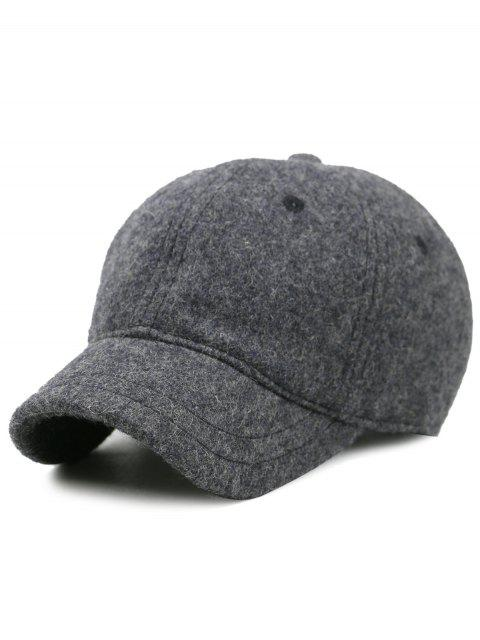 affordable Lines Embroidered Nostalgic Color Baseball Hat - DARK GRAY  Mobile