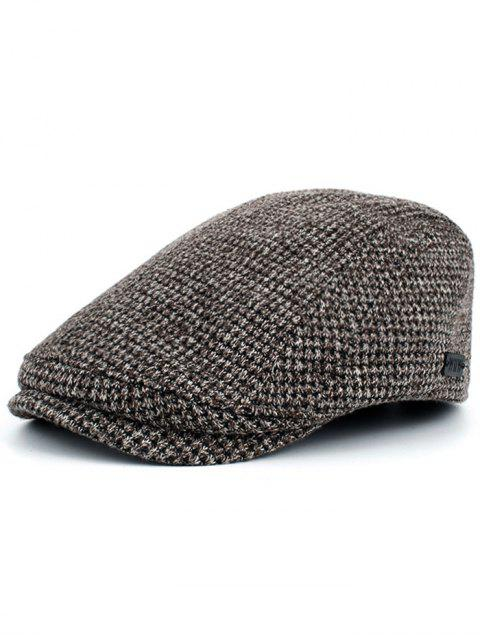 fashion Simple Corn Shape Embellished Duckbill Hat - COFFEE  Mobile