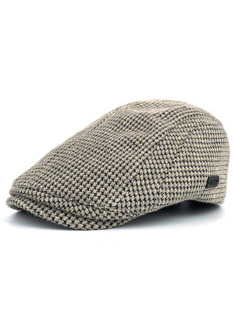 chic Simple Corn Shape Embellished Duckbill Hat - BEIGE  Mobile