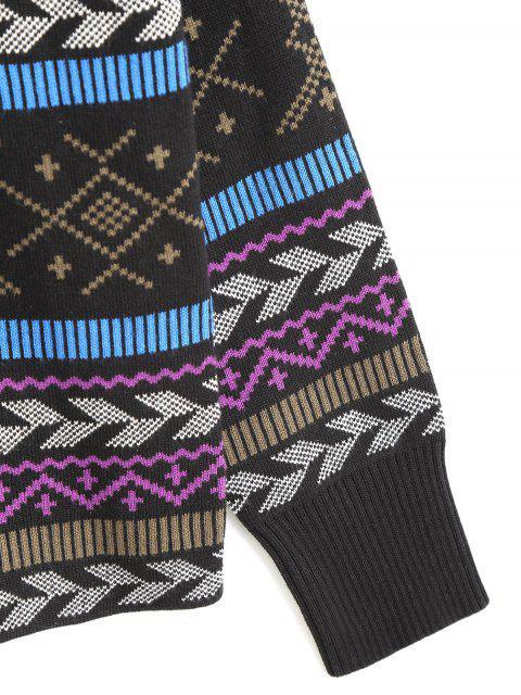 Pullover mit Rundhalsausschnitt - Multi Einheitsgröße(Geeign Mobile