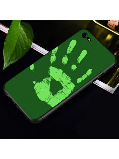 Heat Sensitive Soft Phone Case For Iphone - Green For Iphone 6 / 6s