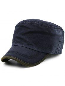 Sombrero Militar De Gradiente De Línea Color Degradado - Azul Marino