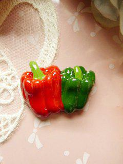 Phone Case DIY Decorations Vegetable Pepper - Red And Green