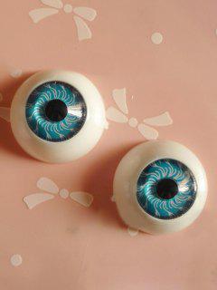 Phone Case DIY Decoration Cartoon Eyeball - Blue