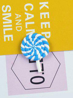 Phone Case DIY Decorations Cartoon Lollipop - Blue